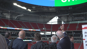 FIFA World Cup Bid Evaluation team tours Atlanta