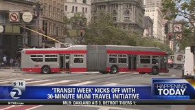San Francisco advocacy group calls for faster Muni trains during 'Transit Week'