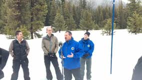 Sierra snow survey shows snowpack is 162% of average statewide