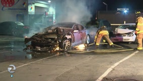 NTSB says electric vehicle battery fires pose great risks to 1st responders