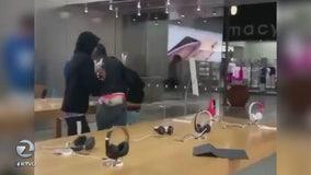 Thieves strike Hillsdale Shopping Center in latest Apple Store burglary
