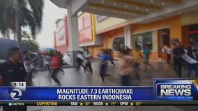 Two earthquakes rattle parts of the Pacific Rim