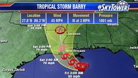 Tropical Storm Barry forms in Gulf of Mexico, could bring 'catastrophic' flooding to Louisiana