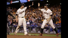 Panik, Giants top Cubs 6-5 in 13 to force Game 4 in NLDS