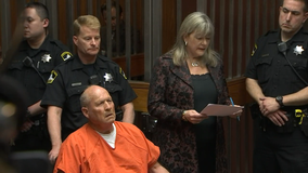 Man in Golden State Killer case makes 1st court appearance in Sacramento County