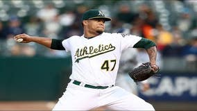 A's pitcher Frankie Montas suspended for using performance enhancing drugs