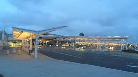 Oakland International Airport almost completely devoid of passengers in April due to coronavirus pandemic