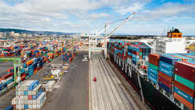 Port of Oakland reports record-setting import volume as U.S. economy rebounds from pandemic