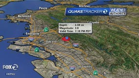 USGS reports magnitude 3.5 earthquake near Oakland