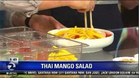 Thai mango salad by Chef Ariel Layug