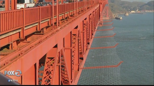 Golden Gate Bridge suicide nets delayed two years