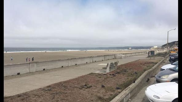 Beach hazard warning issued through holiday weekend