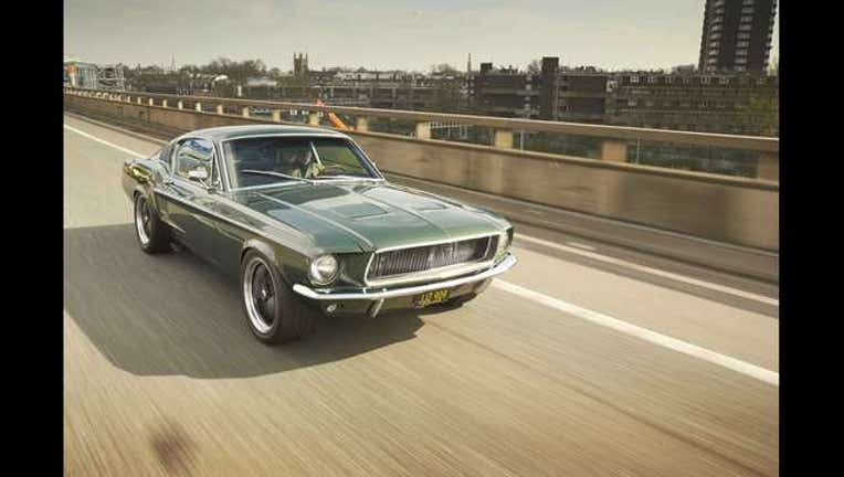 Restoration specialists create Ford Mustang cars identical to those from film 'Bullitt', Georgia, America - Jan 2016_1488921495054