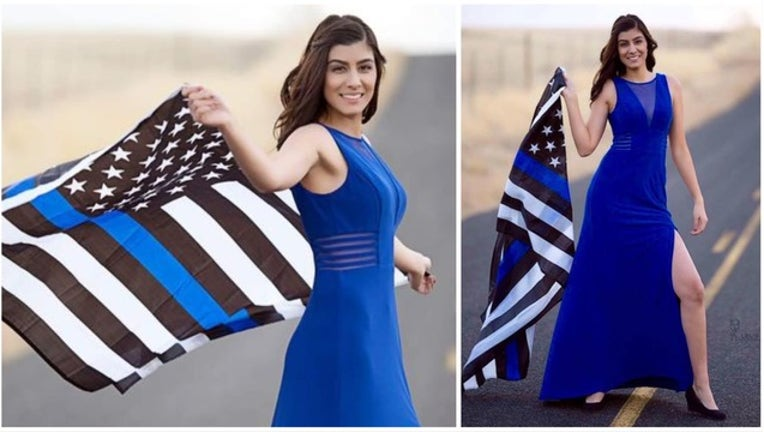 The Story Behind This Image Of Slain Davis Police Officer Natalie