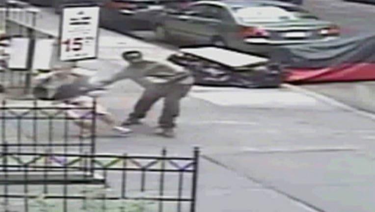 Man Shoves Feces Down Woman's Shorts, 1-402970