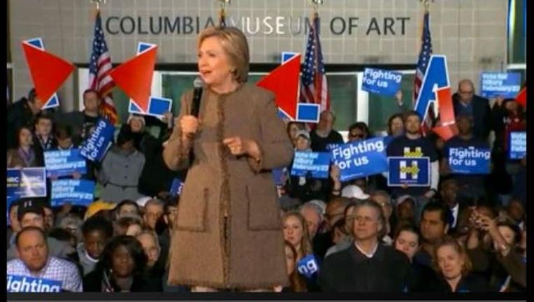 8895105f-Hillary Clnton wins South Carolina Democratic Primary