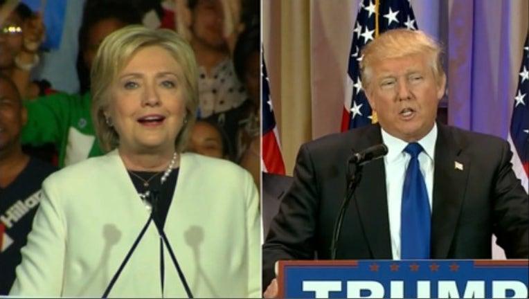 Big Super Tuesday wins for Hillary Clinton & Donald Trump