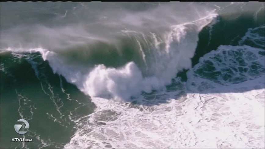High-surf advisory issued for entire Bay Area coastline; largest waves Thursday night through Friday morning