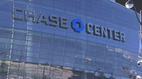 First Golden State Warriors game at Chase Center held Saturday in San Francisco