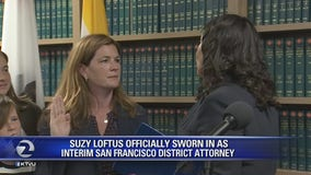 San Francisco District Attorney sworn in
