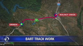 BART track work continues this weekend