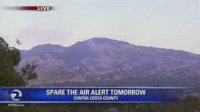 Spare-the-Air alert issued for Monday