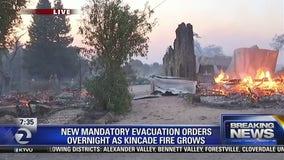Soda Rock winery burns in Kincade Fire