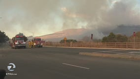 150-acre vegetation fire burns in American Canyon