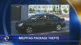 Milpitas police seeking multiple suspects in recent package thefts