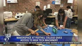 Makerspace at Foothill College opens to the public