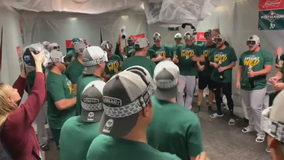 Oakland A's fans psyched for wild card game against Tampa Bay Rays
