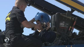 The ride of a lifetime: KTVU's Heather Holmes flies with the elite Blue Angels