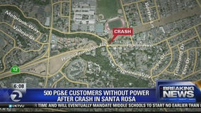 Deadly crash in Santa Rosa