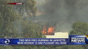 Contra Costa County Fire: PG&E equipment sparked three weekend wildfires in Lafayette, Martinez