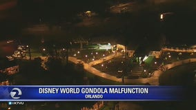 Park-goers stuck on Disney World's newly opened aerial cable cars