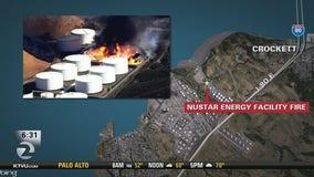 Officials eye explosion at Crockett fuel site after quake