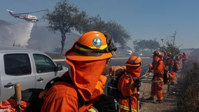 Southern California again sees fire danger amid dry winds