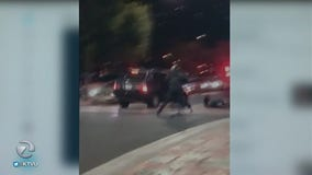 San Jose police investigating hit-and-run captured on video; witness says it was intentional