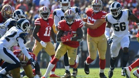 49ers remain unbeaten with 20-7 win over Rams