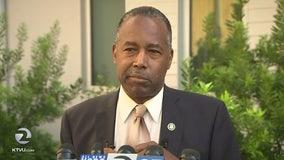 HUD Secretary Ben Carson says he wants to resolve CA's housing crisis