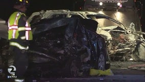 Coroner IDs two who died in wrong-way South Bay crash