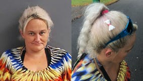 'I didn't know that was there': Arkansas woman wearing bag of meth as hair bow during arrest