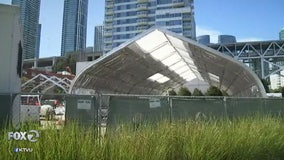 Judge denies request to halt homeless shelter's construction along San Francisco Embarcadero