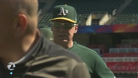 A's encouraging fans to come out early for AL Wild Card Game