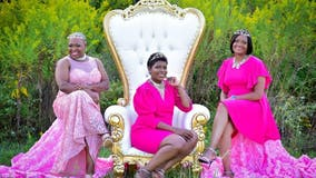 'Queens' share breast cancer awareness photo shoot