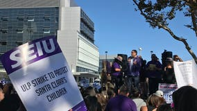 Assemblyman Ash Kalra joins Santa Clara County workers' picket lines on 9th day of strike