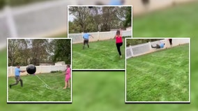 Gender reveal fails when couple can't pop balloon, which floats away