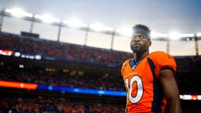 Broncos trade receiver Emmanuel Sanders to 49ers