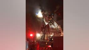 San Leandro apartment fire destroys one unit, damages 12 others