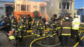 3 hospitalized after fire breaks out at San Francisco home